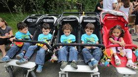 Paterčata vyrostla jako z vody! Michael, Alex, Martin, Daniel a Terezka oslavili 3. narozeniny