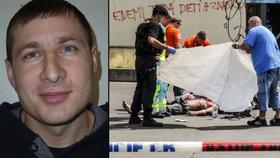 Za bílého dne ubodal na Florenci soka v lásce: Soud Bělorusovi snížil trest a vyhostil ho