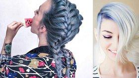 V barvě džínoviny  Trend v barvení vlasů 497a37fe04