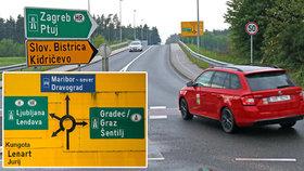 Autem do Chorvatska: Jak se vyhnout slovinské dálnici? A vyplatí se to?