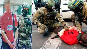 Terorista prý chystal 15 útoků na fotbalovém šampionátu, zadrželi ho Ukrajinci