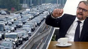 Ministr dopravy Ťok o vleklých opravách D1: Musíme čekat, až to ztvrdne