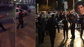 Po teroristickém útoku v Izraeli čtyři mrtví. Paz (22): Všichni jsme utíkali