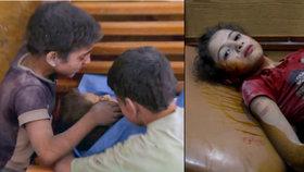 Lidé v syrské válce: Polibek mrtvému bráškovi i kladivo jako pomoc pro zraněné