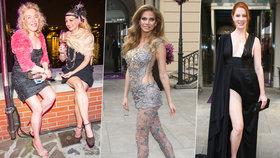 Šláply vedle: Veškrnová s Verešovou se pokusily být hvězdami večírku, ale přišla módní halucinace!