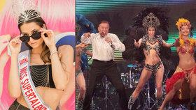 Karel Gott může být pyšný: Jeho tanečnice vyhrála Miss Supertalent World!
