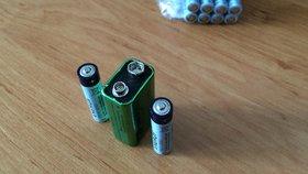 """Největší """"recyklátoři"""" jsou v Praze 4: Loni odevzdali téměř půl tuny baterií"""