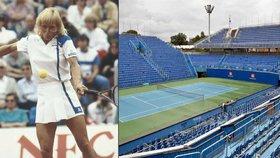 Štvanici otevřela emigrantka: Před 30 lety vyrostl v Praze moderní tenisový areál