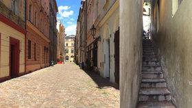 Kouzelné pražské uličky: Nejtišší je v centru metropole, nejužší na Malé Straně