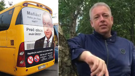 """Nechceme žlutou řepku ani autobusy."" Chovanec ""děkoval"" Jančurovi za antikampaň"