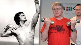 """""""Baleťák v důchodu"""" Harapes (69) chce mít svaly jako v mládí: Vzal fitko útokem!"""