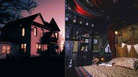 Hřbitov na zahradě, duchové šílených pacientů: Nejstrašidelnější nabídky na ubytování