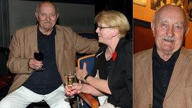 Čilý důchodce Josef Somr: Rýpání v zahrádce na chvíli vyměnil za divadlo