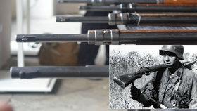 Unikátní zbraně v pardubickém muzeu: Na těchto puškách je krev Čechů!