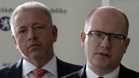 Další tření v koalici: Sobotka odmítl bezpečnostní radu. Kvůli vyšetřování