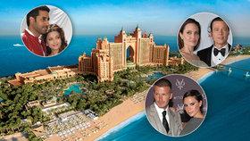 Luxusní Dubaj začíná konkurovat Hollywoodu: Které hvězdy už si koupily sídla v ráji šejků?