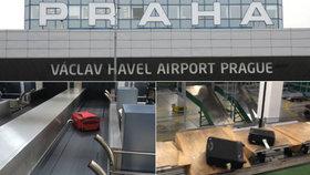 Cesta kufrů po pražském letišti: Tohle s nimi dělají, když je nevidíte