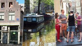 Amsterdam: Ideální místo pro víkendové poflakování, kde o zábavu není nouze