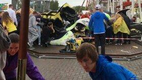 Ve Skotsku vykolejila horská dráha: Mezi zraněnými je i osm dětí