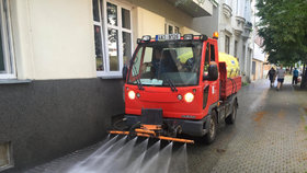 Z Náchodské si přeparkujte: V noci ze čtvrtka na pátek proběhne plošné čištění