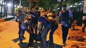 Drsný útok ve čtvrti diplomatů: Islamisté podřezali cizince v restauraci