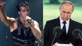 Lídr Rammsteinů zuří kvůli ruské propagandě: Stal se prý obětí putinovských lží