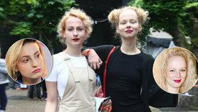 Herečky Linhartová a Fialová v Karlových Varech: Vypadají jako siamská dvojčata!