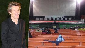 Provar v Karlových Varech: Na Dafoeův film přišlo jen pár lidí