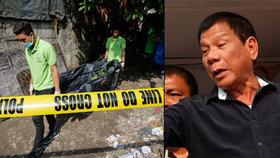 Vraždy drogových dealerů na Filipínách? Nový prezident začal zřejmě s popravami