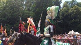 U Pražského hradu bojoval Jan Lucemburský, slavil narození Karla IV.