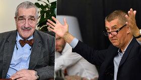 """Politici obnažili majetky: Babiš """"bral"""" přes 100 milionů, kníže má Jaguara"""
