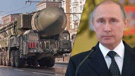 Masivní cvičení v Rusku: Putin vytáhl mezikontinentální rakety