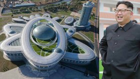 "Kim staví vlastní ""Manhattan"". Novou čtvrť mrakodrapů v KLDR buduje armáda"