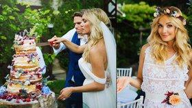 Vděčná Táňa Kuchařová: Poděkovala za svatbu s Gregorem a ukázala další fotky z veselky!