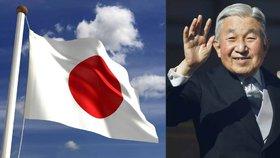 Japonsko zatajilo dech. Císař Akihito chce po 27 letech skončit