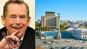 Václav Havel na Ukrajině? Lidé po něm chtějí pojmenovat ulici v Kyjevě