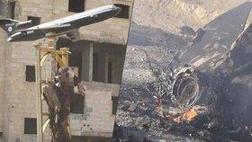 ISIS sestřelil v Sýrii stíhačku, znetvořenou mrtvolu pilota teroristé ukřižovali