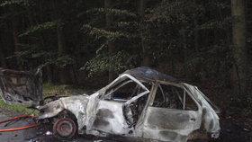 Černý pátek pro řidiče na Vysočině: Při dvou nehodách zemřeli řidič (†32) a motorkář (†18)!