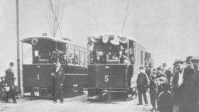 První tramvaj v Praze vyjela před 125 lety: Svezla Pražany z Letné do Stromovky
