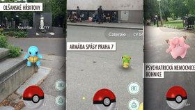 Pokémoni v blázinci, na hřbitově nebo mezi bezdomovci. Kde všude je chytíte?