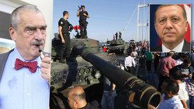 Schwarzenberg: Puč byl pro Erdogana perfektní. Sblížení s Putinem není náhoda