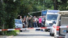 Krvavá exekuce v Ostravě: Policie zastřelila bývalého policistu, který pálil na exekutory
