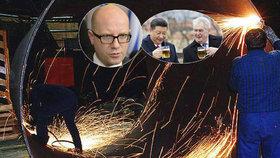 """Desetitisíce Čechů bez práce kvůli Číně? EU tápe, vláda dělá """"mrtvého brouka"""""""