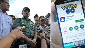 Vojáci a policisté mají s pokémony utrum! Úřady jim chtějí hru zakázat