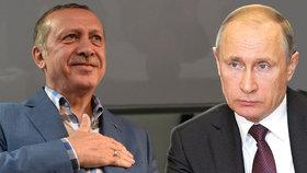 Zachránili Rusové Erdoganovi život? Prezidenta varovali pár hodin před pučem