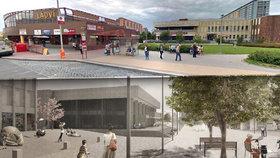 Jak bude vypadat nové náměstí u metra Ládví? Máme vizualizace!