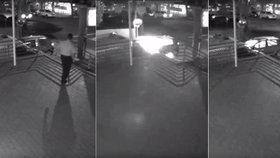 """Za """"Teroristickým"""" útokem v Austrálii stojí Čech! Útok zachytily bezpečnostní kamery"""