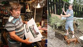 Roman Skamene, práce všeho druhu: Staví si novou haciendu a to vlastníma rukama!