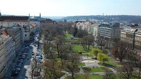 60 procentům lidí se nelíbí Karlovo náměstí. Přestavba má začít za dva roky
