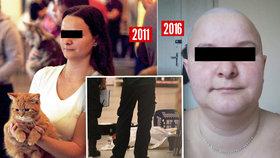 Proměna šílené vražedkyně z Anděla: Z pěkné holky holohlavý transsexuál